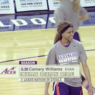 CAMARY WILLIAMS SIGNS IN ASIA!